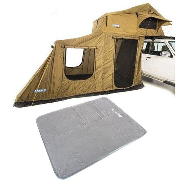 Adventure Kings Roof Top Tent + 6-man Annex + Self Inflating 100mm Foam Mattress - Queen