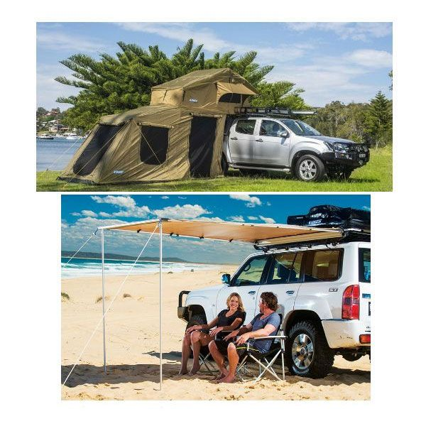 Adventure Kings Roof Top Tent + 6-man Annex +  Awning 2x2.5m
