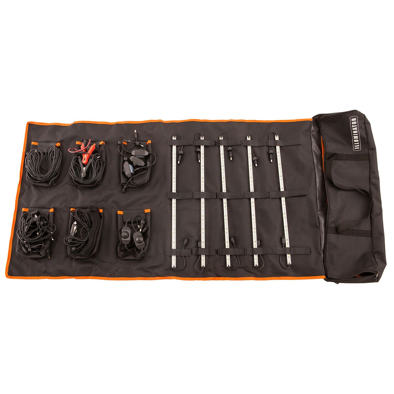 Adventure Kings 5 Bar Camp Light Kit | LED | Dimmers | Velcro & Magnet