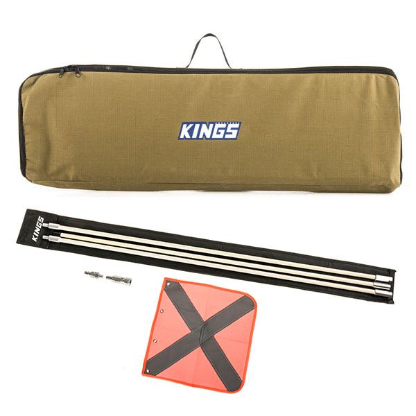 Adventure Kings Recovery Tracks Canvas Bag + 3m Sand Safety Flag