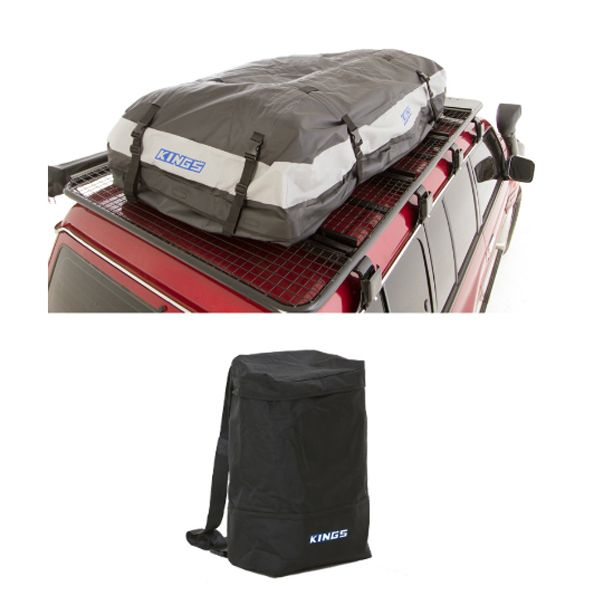 Adventure Kings Premium Waterproof Roof Top Bag + Adventure Kings Dirty Gear Bag