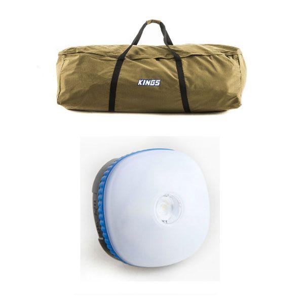 Adventure Kings Swag Canvas Bag + Mini Lantern