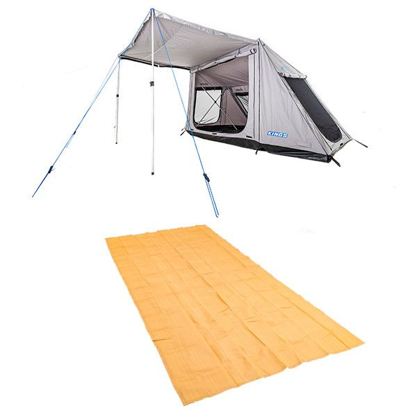 Adventure Kings Swift 5-person Tent  + Adventure Kings Mesh Flooring 6m x 3m