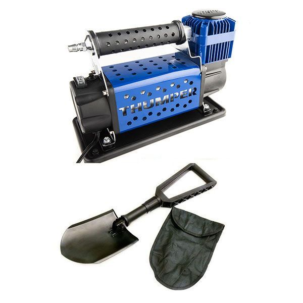 Thumper Air Compressor MKIII + Recovery Folding Shovel