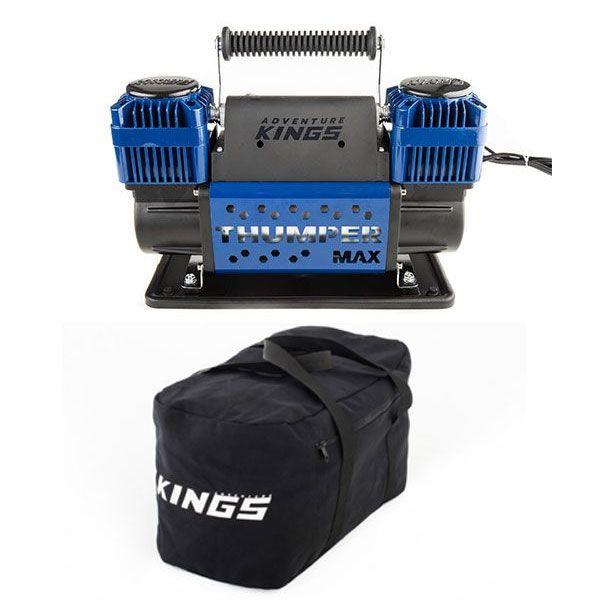 Thumper Max Dual Air Compressor + 40L Duffle Bag