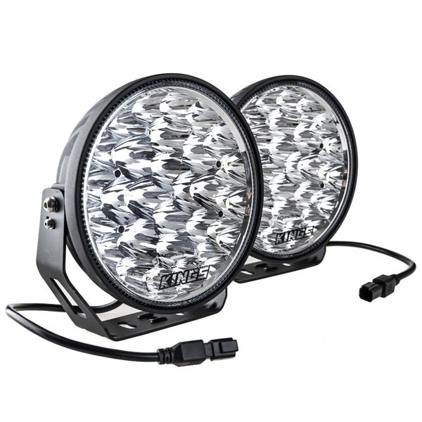 """Kings 9"""" LED Driving Lights (Pair) 