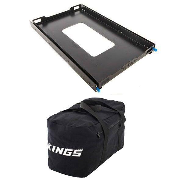 Adventure Kings Titan 100L Fridge Slide + 40L Duffle Bag