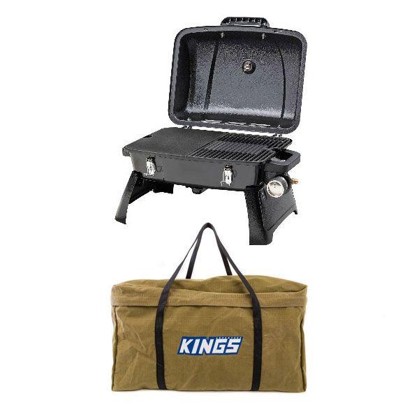 Gasmate Voyager Portable BBQ + Adventure Kings BBQ Canvas Bag