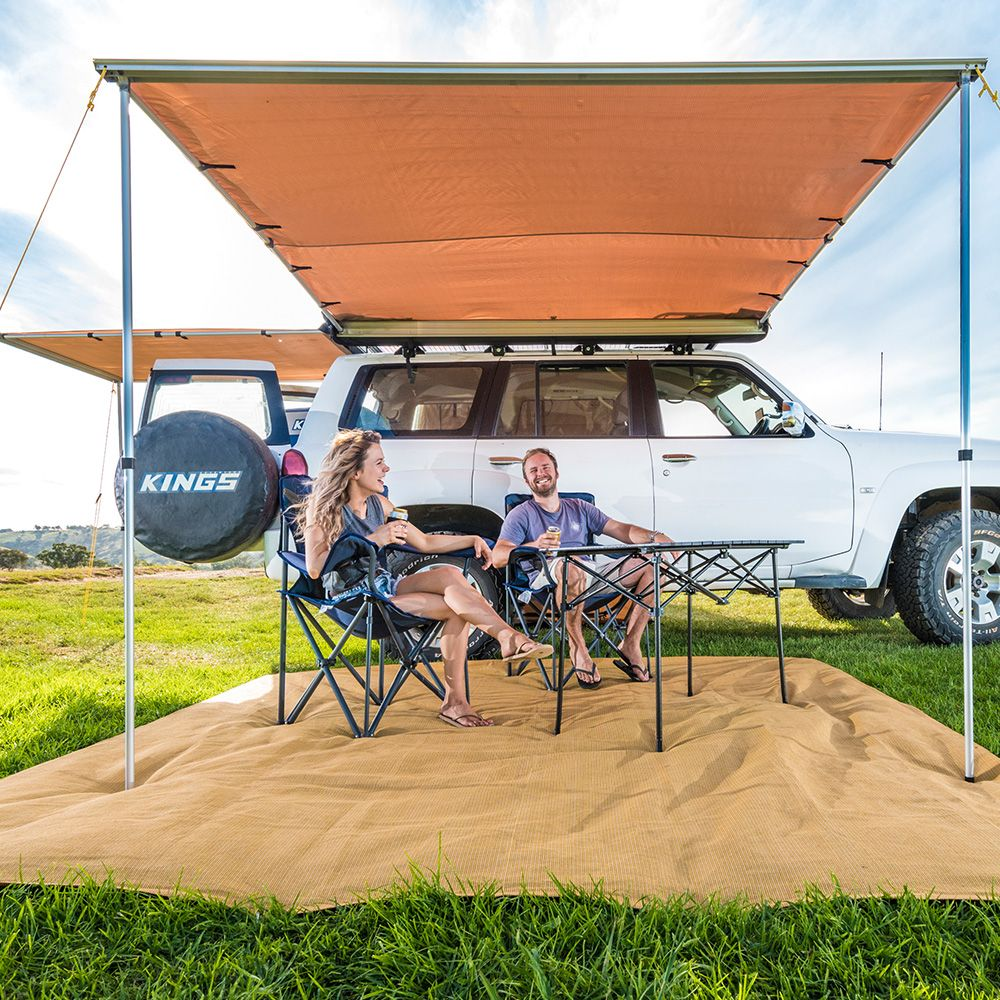 Awnings - the foundation to all campsites