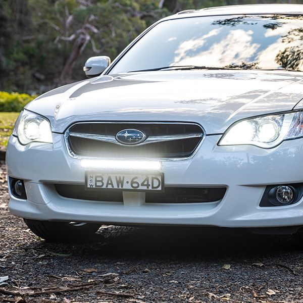 No bullbar? No worries – mount behind your numberplate