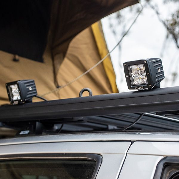 Compact LED worklights and lightbars
