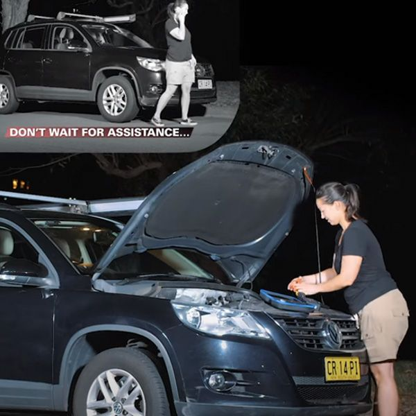 Be your own roadside assistance
