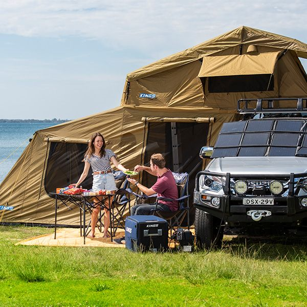 Camping accommodation without breaking the bank