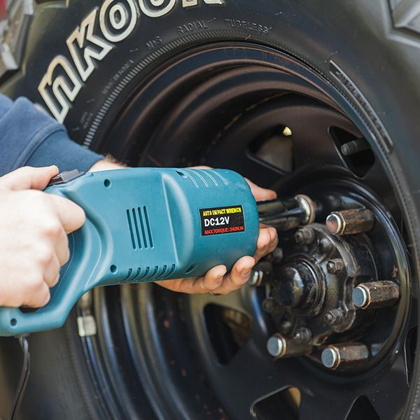 Change your tyres with ease wherever you are