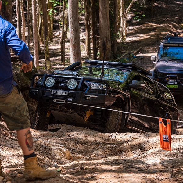 Domin8r X Winch punished and pulled apart
