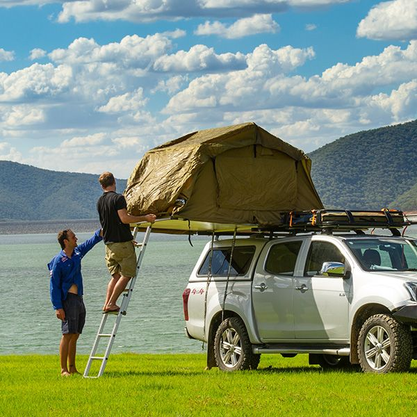 How to install a Roof Top Tent to your vehicle