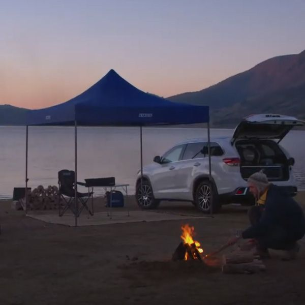 Easy camping ideas if you don't own a roof rack