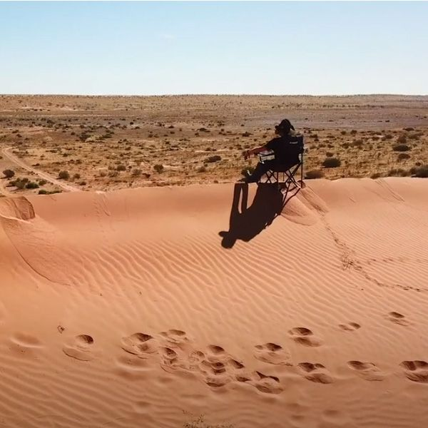 Thumper Compressors tested in the Simpson Desert