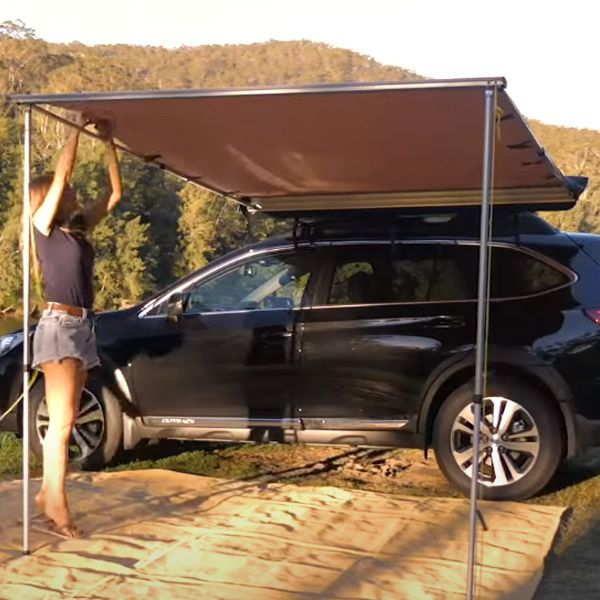 Transform your SUV with a side awning