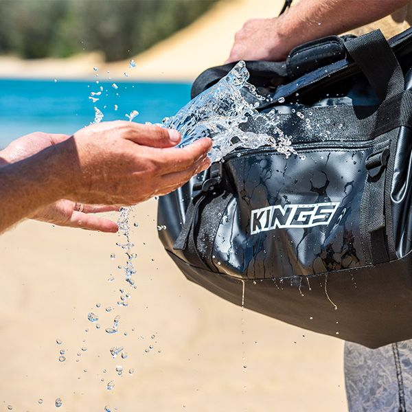 We prove how waterproof out duffle bags really are