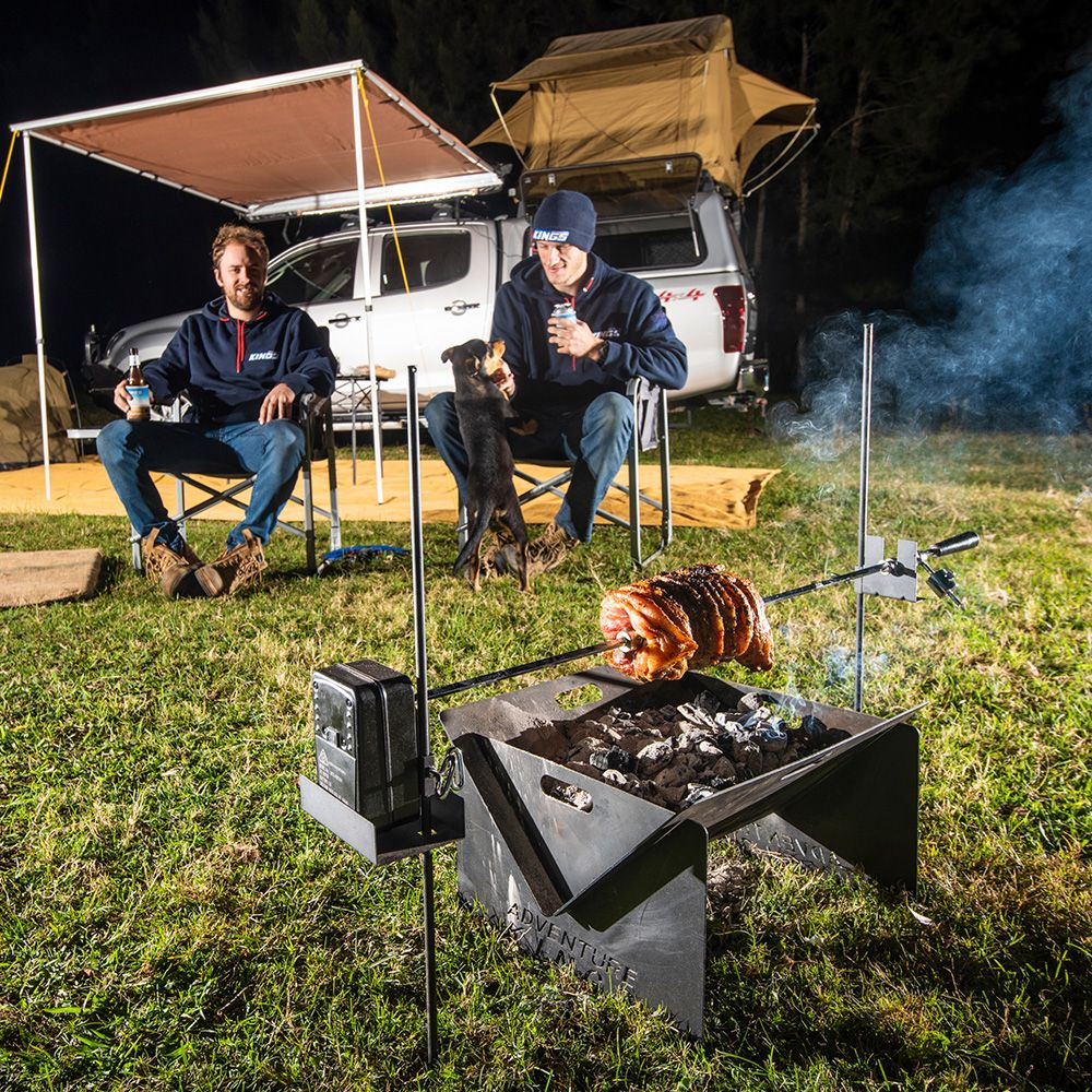 Your new favourite camp cooking method