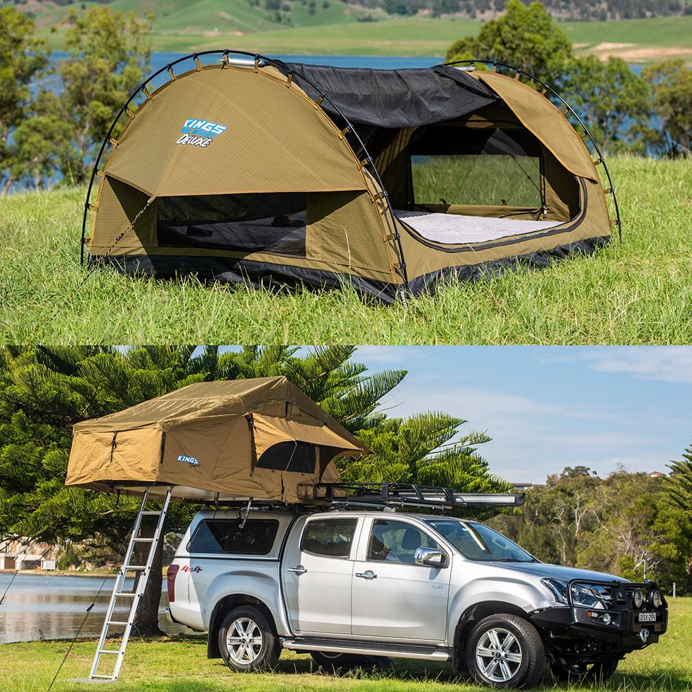 Swag vs Rooftop tent - you choose
