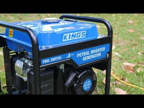 Adventure Kings 3kVA Inverter Generator Features