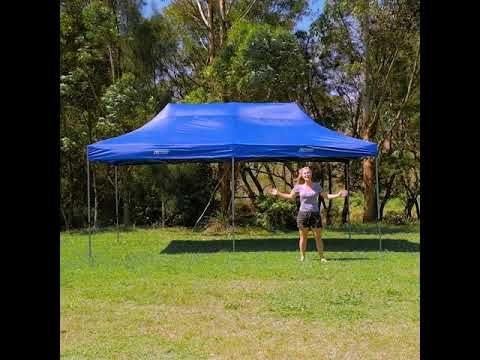 Adventure Kings 6x3m Camping Gazebo The BIG Shade Solution!