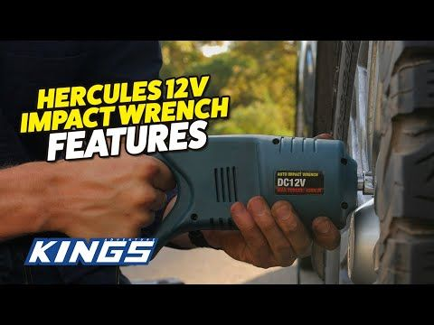 Hercules 12v Impact Wrench Features