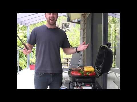 The Voyager Portable BBQ is perfect for at camp or at home!