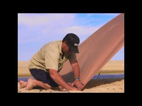 Grab an Awning Side Wall for instant shelter