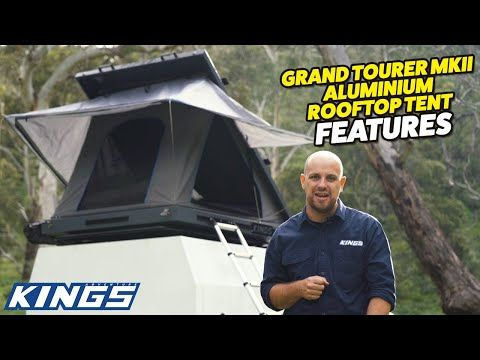 Introducing Kings Grand Tourer MKII Rooftop Tent | NEW Bracing System = Best Value on the Market