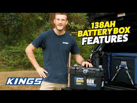 Adventure Kings Maxi Battery Box Features