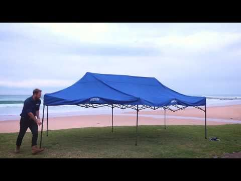 Adventure Kings 6x3m Camping Gazebo Features