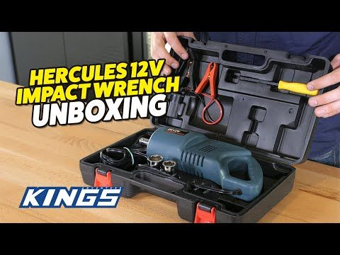 Hercules 12v Impact Wrench Unboxing