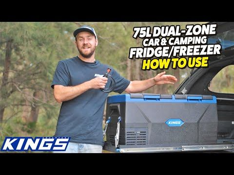 Adventure Kings 75L Dual-Zone Portable Car & Camping Fridge/Freezer - How to Use