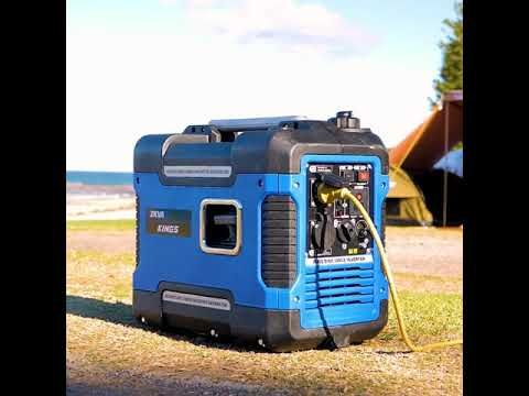Power your campsite hassle free with the Adventure Kings 2kVA Peak Power Enclosed Generator!