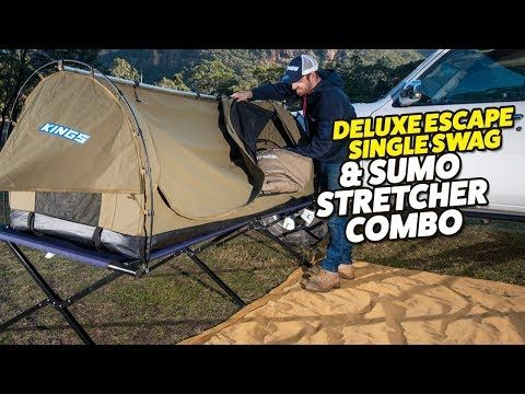 Deluxe Escape Single Swag & Stretcher Combo