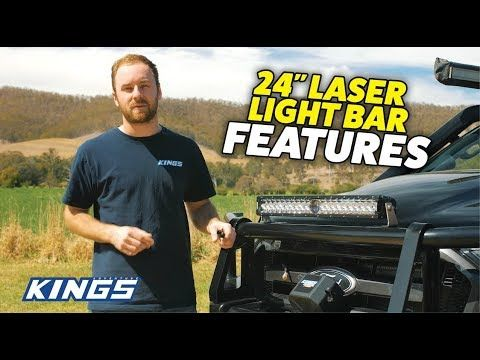 Adventure Kings 24'' Laser Lightbar Features