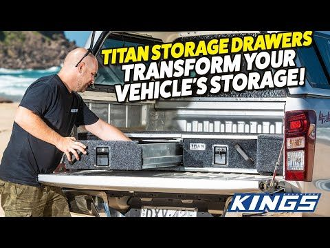 Titan Drawers Transform Your Vehicle's Storage
