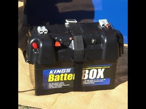 Make camping easier with an Adventure Kings Battery Box