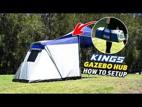 Adventure Kings Gazebo Hub How to set up