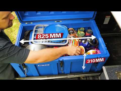 Kings 156L Storage Box Features