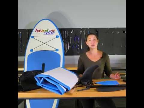 Adventure Kings Kids Inflatable Standup Paddleboard What's In The Box?