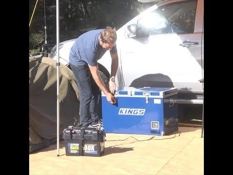 The Battery Box can power your whole campsite - anywhere!