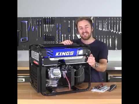 The Adventure Kings 3.5kva Open Generator combines big power with big fuel capacity