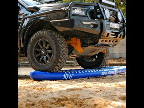 Kings Inflatable Paddleboard v 3 Tonne 4WD – Who'll Win?