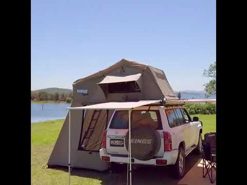 The Roof Top Tent from Adventure Kings is a versatile piece of camping equipment!