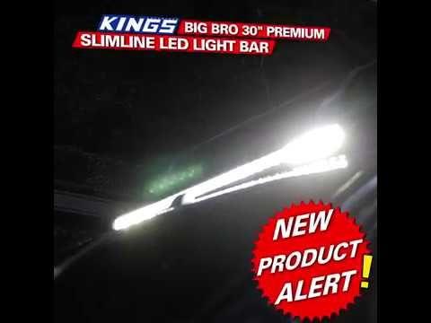 "Introducing the Big Bro 30"" Premium Slimline LED Light Bar"