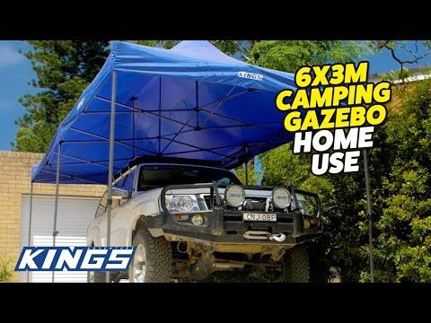 Adventure Kings 6x3m Gazebo Home Uses